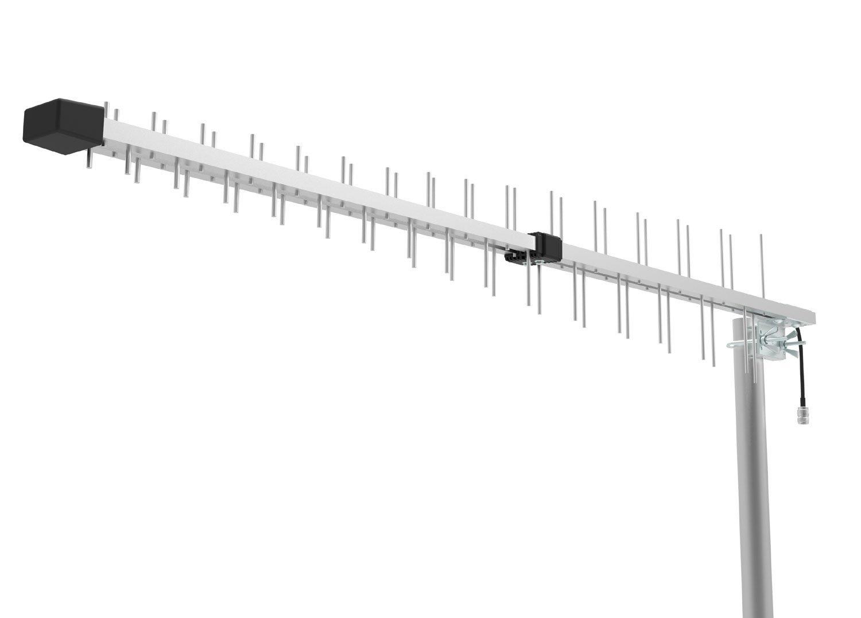 Log Periodic Directional Yagi Antenna 15dbi Gain for 3G 4G LTE XLTE AWS iDen PCS 698MHz-2700MHz Wide Band Full Band