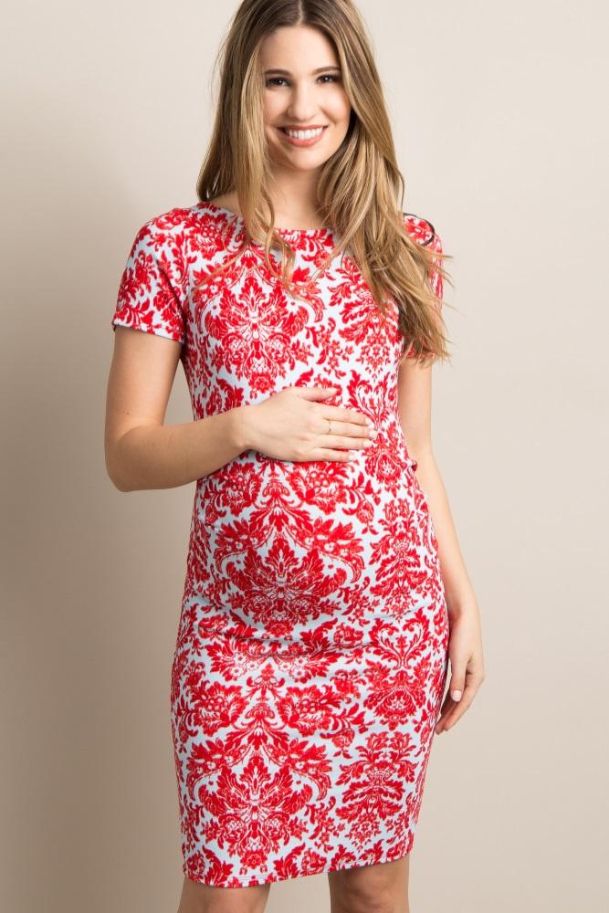 a1416c21c5049 B Maternity Dresses Long Sleeve Pregnancy Dress Clothes for Pregnant Women