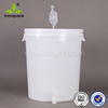 white fermentation home kit 30L with tick mark with lid for wine make