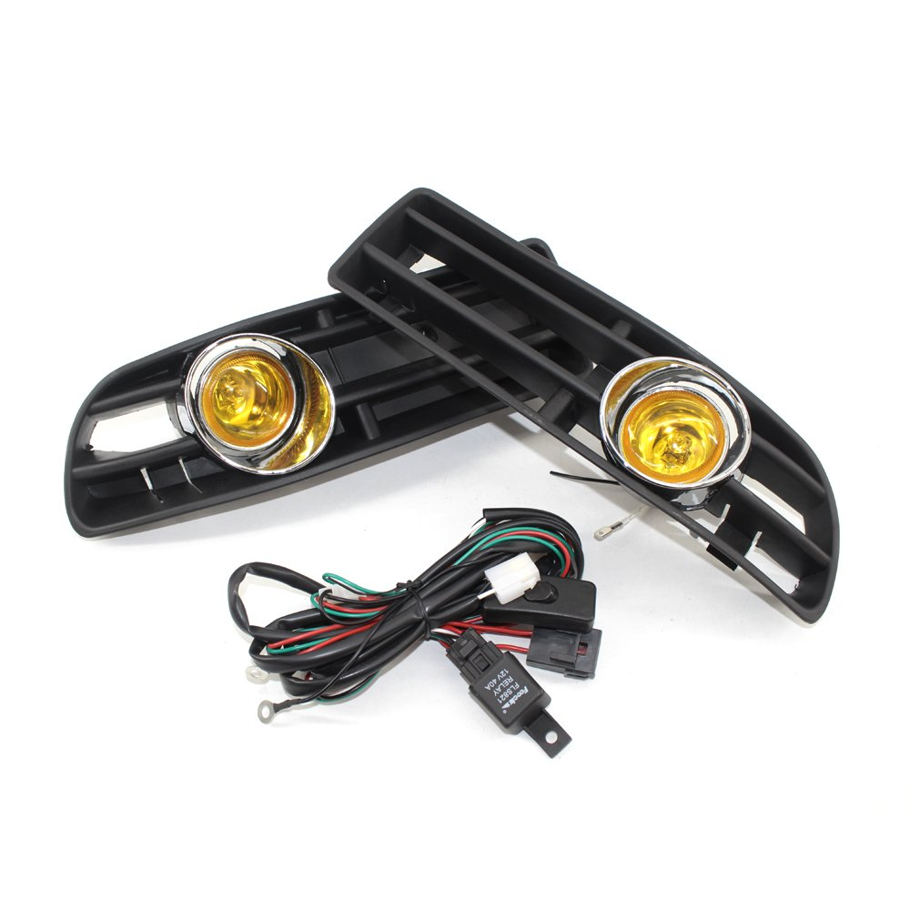 Cheap Wiring Fog Lights With Switch Find A For Get Quotations Heart Horse Grille Volkswagen Vw Jetta Bora 2002 2007