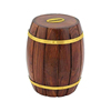 Wine Barrel Style Popular Custom Wooden Money Box for Wholesale Purchase
