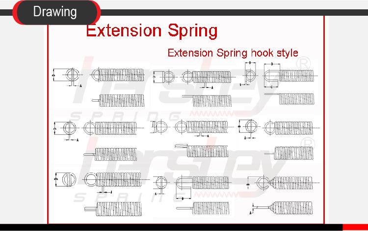 Custom Heavy Duty Garage Door Extension Springs Roll Up Door Spring