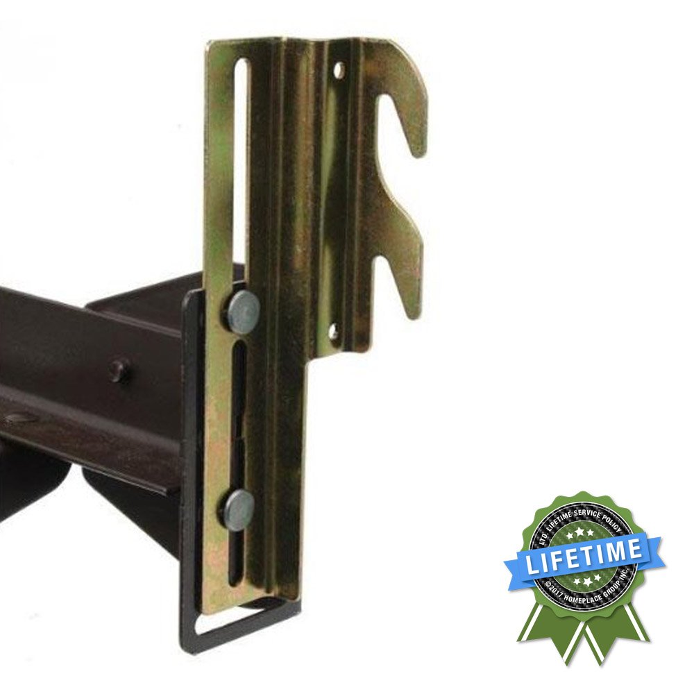 Buy #711 Bolt-On to Hook-On Bed Frame Conversion Brackets with ...