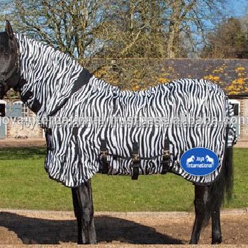 Horse Mesh Rugs Zebra Printing