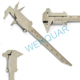 Orthodontic Dental Caliper Gauge Barren Duck Laboratory Orthodontics Instruments