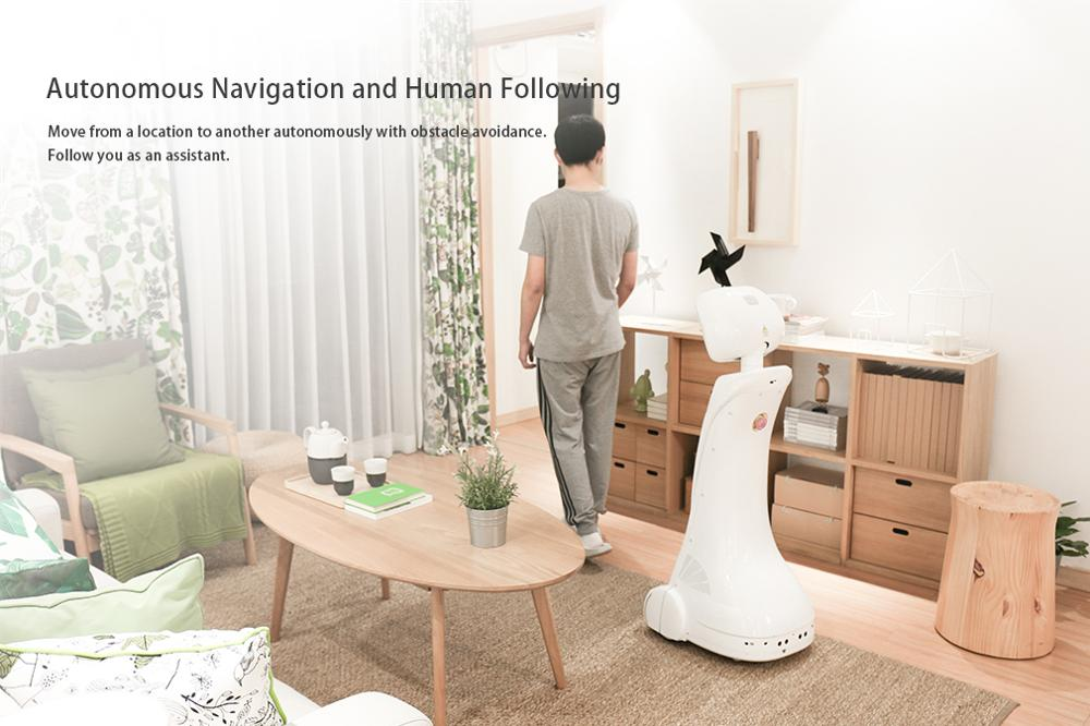 Intelligent telepresence Healthcare Robot - SIFROBOT-1.1 With 1000 m² Navigation Area Telepresence Robot