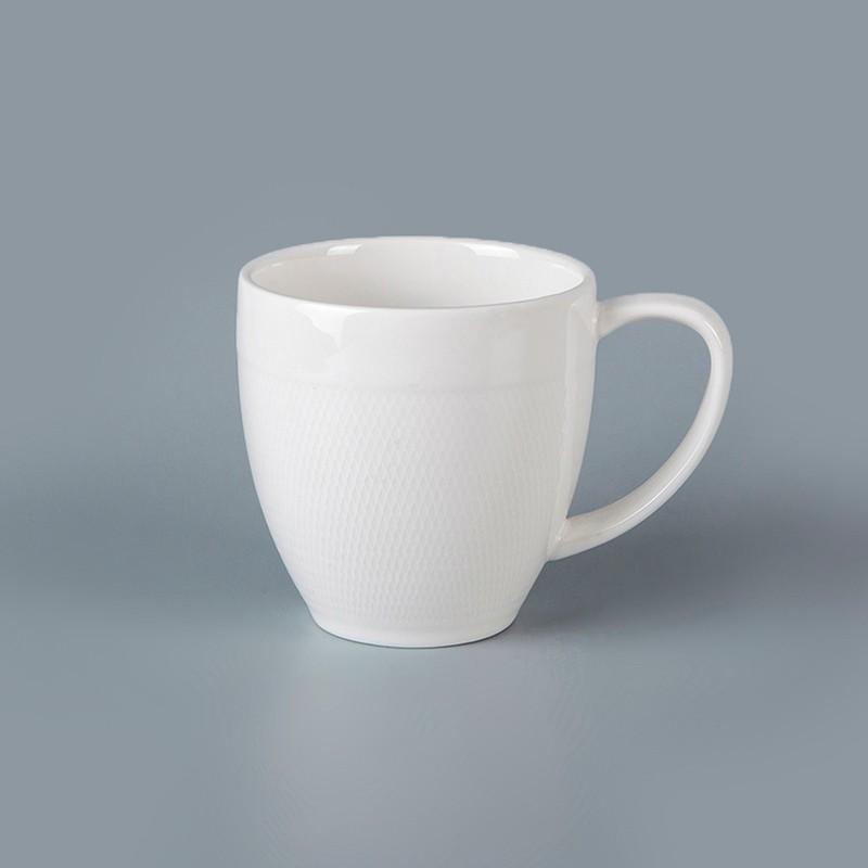 product-Best Seller Restaurant Hotel Supplies Tableware White Stoneware Mug Chaozhou, Ceramic Coffee