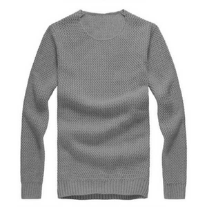 Slim Fit Computer Knit Casual Pullover Men Sweater