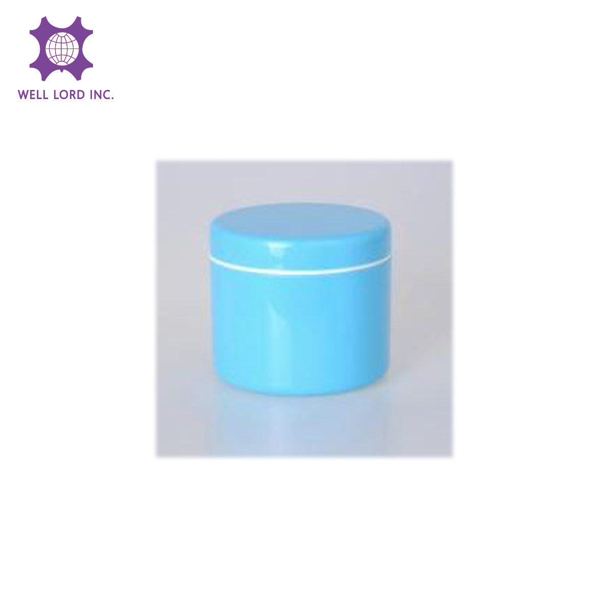 Brightening moisture boosting gel cream simple and clear travel use cosmetic pet jar