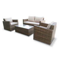wicker rattan living room furniture sectional sofa sets/outdoor wicker sets jamaika living sets
