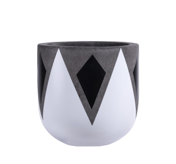 High quality product Fiber Cement Concrete Flower Pot Planters with hot price made from Vietnam