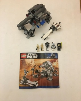 Lego-Star Wars 7869 Battle Of Geonosis Complete