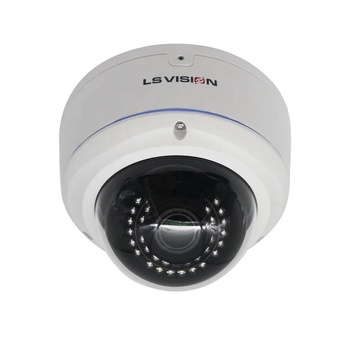 LS VISION High Resolution H.265 POE Soly IMX335 Onvif Night Vision Real Time 5MP Dome IP Camera