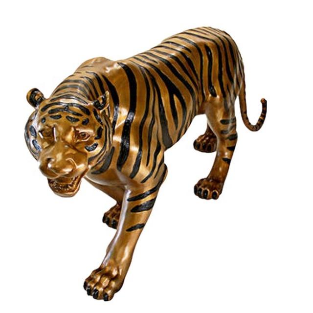 металлический тигр фото бесплатную картинку