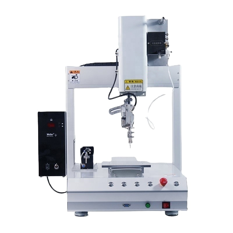 Rotary Soldering Machine For PCB Board LED Strip Light wire soldering machine/robot