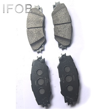 IFOB car brake pad for TOYOTA RAV4 ACA30 ALA30 ZSA30 04465-42140
