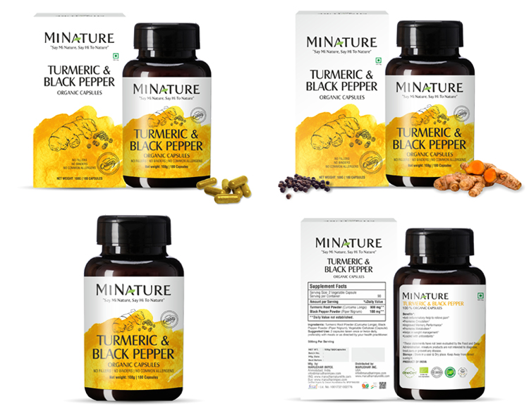 Hot Selling Bulk Turmeric and Black Pepper Capsules at Attractive Price