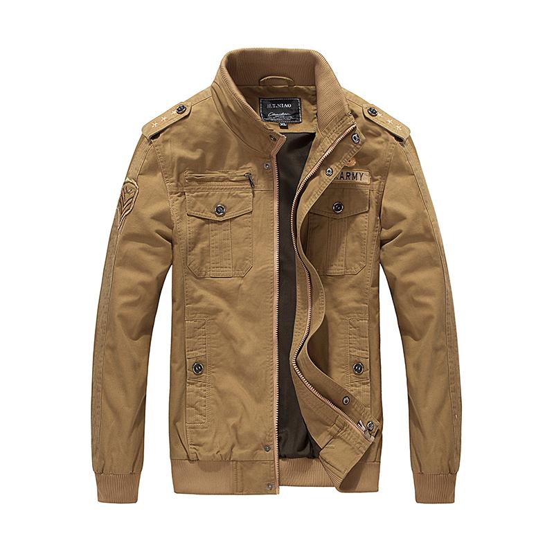 Primavera e Autunno giacca da uomo in cotone cappotto degli uomini di utensili.