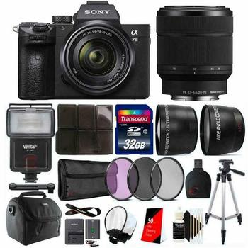 Wholesales for Sony Alpha a7 III Full Frame Mirrorless 24.3MP Digital Camera with Lens Bundle