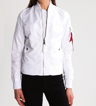 0aa798682 Ma-1 Bomber Flight Jacket Heavy Brass Zip White Cotton Fleece Bomber Jacket  Lightweight White Nylon Bomber Jackets - Buy Digital Camo Bomber Jacket ...