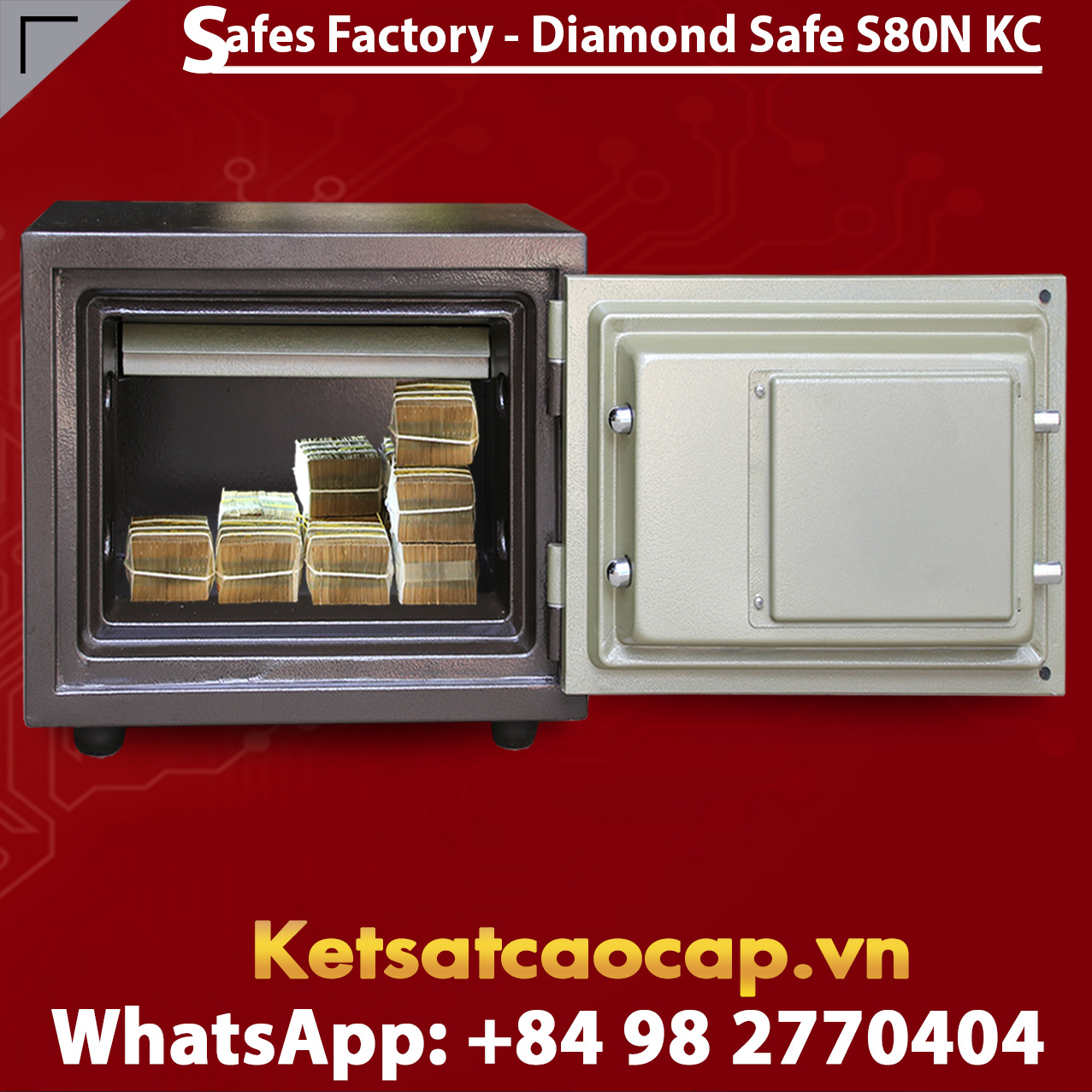 Diamond Safe KS80N KC Black