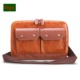 bags men slim leather design laptop for oem