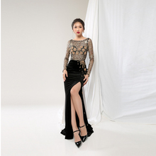 Professionele Fabrikant In Vietnam Split Dij Sexy En Chic Pakistaanse <span class=keywords><strong>Prom</strong></span> Party <span class=keywords><strong>Dress</strong></span> Vrouwen