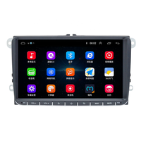 "Physical touch button 9"" Android 8.0 Car radio GPS Navigation for VW Skoda Octavia golf 5 6 touran passat B6 jetta polo tiguan"