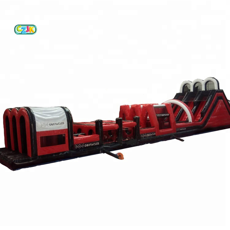 china cheap outdoor extreme game inflatable 5k obstacle course for kid sale
