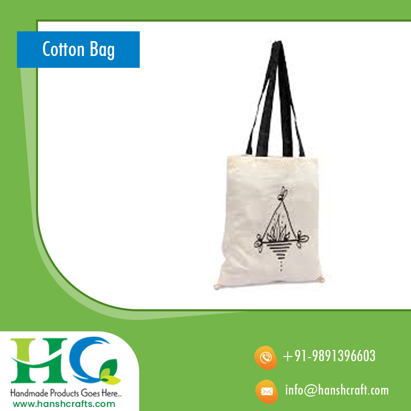 CALICO COTTON BAG PLAIN COTTON BAG 38 x 42 cms cotton bag
