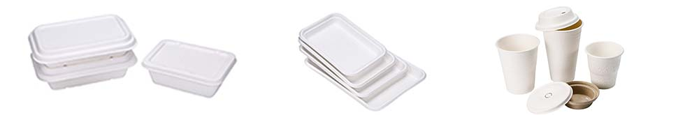 Ok Compost Molded Fiber Disposable Standard Supermarket Meat Poultry Frozen Food Trays