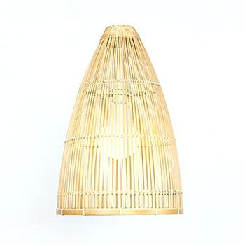 Hot deal natural bamboo lampshade woven products decorative in vietnam wholesale trade