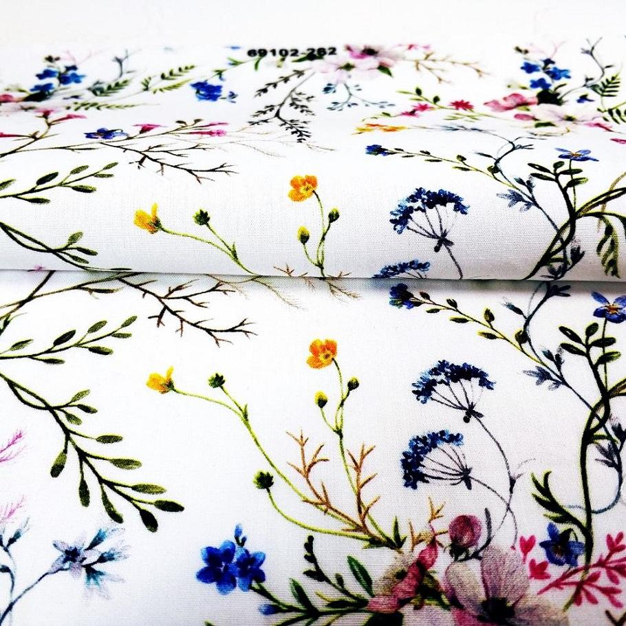 LOW MOQ HIGH QUALITY -Cotton Poplin Digital Textile Print Soft