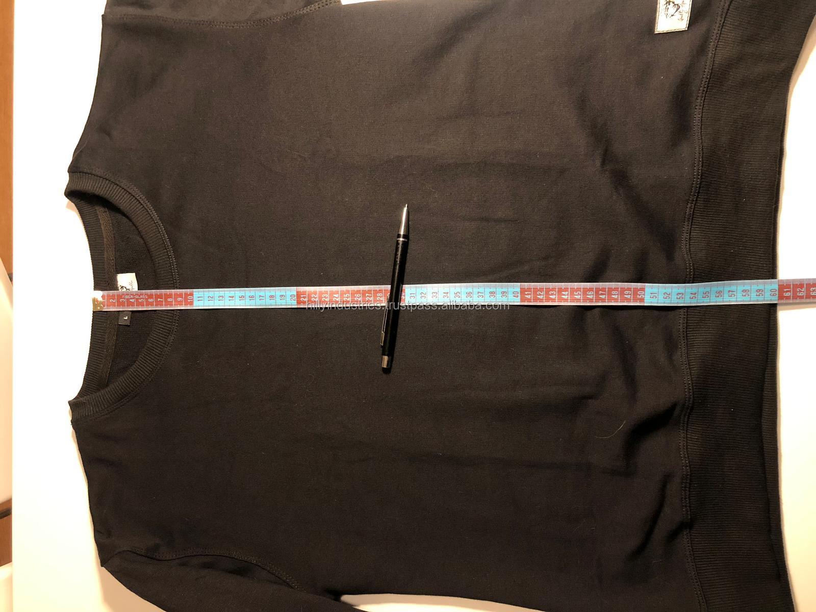 En gros Pas Cher Personnalisé Raglan Manches Ras Du Cou En Coton Sweat-Shirts 100% Coton Côtelé Manchette OEM Hoodies