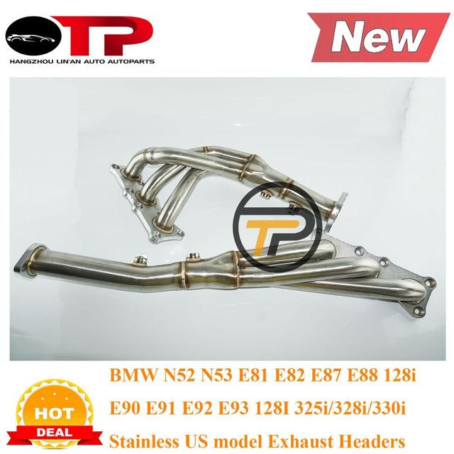 BMW 128i E82 E87 E88 E81 E90 E91 E92 E93 328i 328xi Exhaust Manifold Header