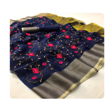 Kantha Embroidery Work Sarees