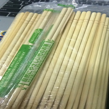 chopsticks disposable bamboo size 8