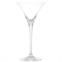Wholesale Crystal High Quality Long Stem Martini Glass Cup Cocktail for Bar