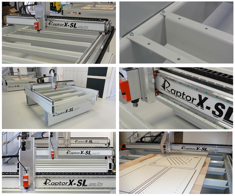RaptorX-SL2200/S20 High Precision 100% Quality Commitment CNC Wood Router Machine