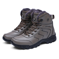 New Design Waterproof shoes Best Men Stylish Outdoor Winter Boots Mountain Hiking boots