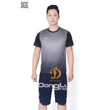 Top qualità sportswear funzionale interblocco apparel dal <span class=keywords><strong>vietnam</strong></span> produttore poliestere t-shirt