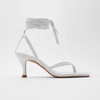 Fast Fashion Women Flip Flop Heel Shoes