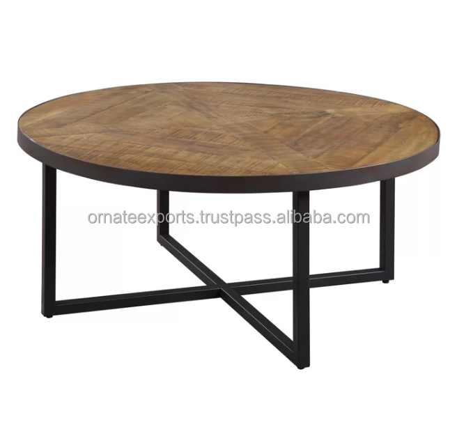Wood And Metal Round Coffee Table Buy Modern Round Nesting Coffee Tables Metal Round Table With Wood Top Indian Metal Coffee Tables Product On Alibaba Com
