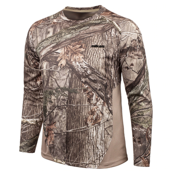 Hot Selling Professional Slim Fit Camo Mens Hunting Cloth Long Sleeve T Shirts
