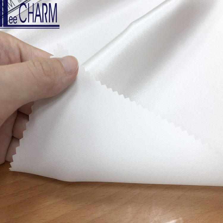 LCL323 Taiwan Quality Bridal Evening Dress Elastic Shiny Light Satin Stretch Fabric