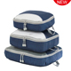 Travelsky travel organizer 3 Pieces storage bags water resistant packing cubes