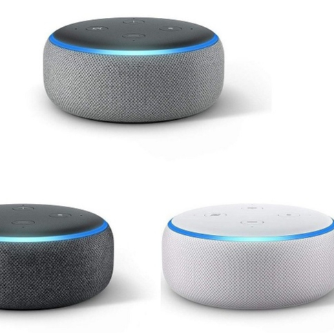 Low price for 3rd Generation Echo Dot Smart Speaker 3rd Generation w/ Alexa controller