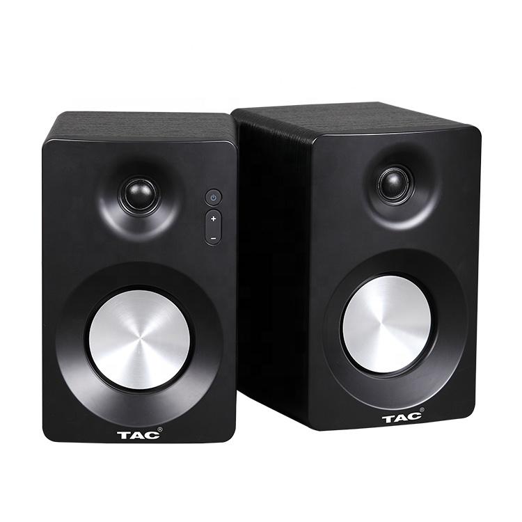TAC hifi loudspeaker woofer wooden bookshelf active bluetooth monitor speaker