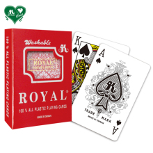 BEST-SELLER Royal Plastik Bermain Kartu <span class=keywords><strong>Standar</strong></span> Index/Single Deck