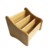 Custom high performance multi-function office desk home bamboo 3 grids storage box